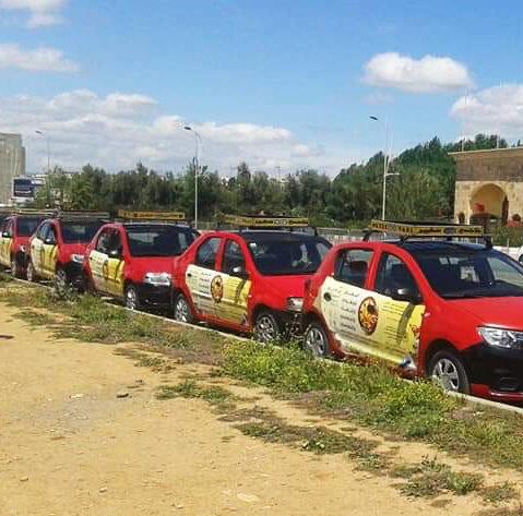 caravane taxi publicitaire fes