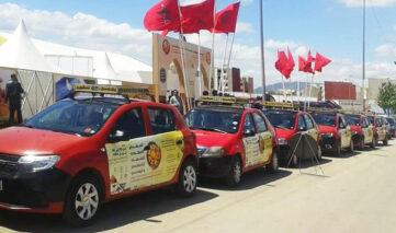 caravane taxi publicite fes